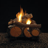 """White Mountain Hearth LSU-30RR 30"""" Rock Creek Replacement Logs for Vent Free Vista See-Through Burners (LOGS ONLY)"""