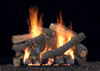 White Mountain Hearth Ponderosa Log Set - Choice of Vented Burner