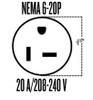 Friedrich PDE09K3SG 9200 BTU, 12.1 EER PTAC Air Conditioner - 20 Amp - 230 Volt