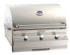 "Fire Magic A540i-6E1N Aurora 30"" Built-In Gas Grill with Rotisserie - Natural Gas"