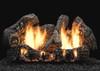 White Mountain Hearth Supersized Charred Oak Log Set - Choice of Vent Free Burner