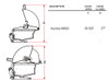 "Fire Magic A660i-6E1P Aurora 30"" Built-In Gas Grill with Rotisserie - Liquid Propane"