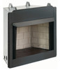 "Everwarm EWVF36 36"" Vent Free Firebox, Flush Face with Refractory Liner"
