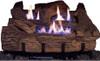 Everwarm Palmetto Oak Log Set - Choice of Vent Free Burner
