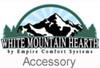 "White Mountain Hearth VFSUR-18N 18"" Vista Millivolt Valve Vented/Vent Free Slope Glaze Multi-Side Burner - Natural Gas"