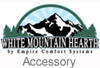 "White Mountain Hearth VFSUR-24N 24"" Vista Millivolt Valve Vented/Vent Free Slope Glaze Multi-Side Burner - Natural Gas"