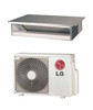 LG LD127HV4 11600 BTU Single Zone Low Static Ducted Ceiling Mini Split System