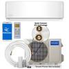 MRCOOL DIY-24-HP-C-230A / DIY-24-HP-WMAH-230A 24000 BTU DIY Single Zone Mini Split System, 230 Volt