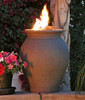 American Fyre Designs 660CB11V2PC Amphora Fire Urn in Cafe Blanco