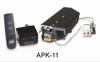 "RH Peterson Real-Fyre G424N-APK11N 24"" Glowing Ember Vented Burner with On/Off Remote  - Natural Gas"