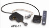 """RH Peterson Real-Fyre G424P-APK17P 24"""" Glowing Ember Vented Burner with Automatic Pilot / Variable Flame - Liquid Propane"""