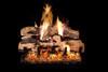 RH Peterson Real-Fyre Split Oak Designer Plus Log Set - Choice of Vented Burner and Valve Kit