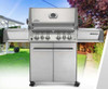 Napoleon P500RSIBPSS Prestige Series Freestanding Gas Grill with Infrared Rear and Side Burners - Liquid Propane