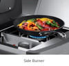 Weber Summit S-470 7170001 Freestanding Gas Grill with Sear Station, Side Burner and Rotisserie - Liquid Propane