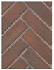 Superior BLK33OTRH Old Town Red Herringbone Brick Ceramic Liner Kit