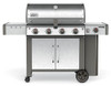 Weber 62004001 Genesis II LX S-440 Freestanding Gas Grill with Side Burner - Stainless/Black - LP