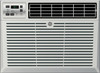 General Electric AEM05LX 5200 BTU Window Unit Room Air Conditioner - Energy Star