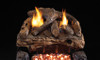 RH Peterson Real-Fyre Evening Fyre Split Log Set and Vent Free Burner