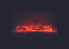 "Amantii WM-FM-50-BG 50"" Built-In Electric Fireplace with Log"