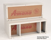 "Amana WS900GS 42"" Insulated Galvanized Steel Wall Sleeve with Sound Suppression"