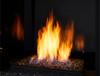 "Monessen LYR30 30"" Contemporary Vent Free Millivolt Burner with Fire Glass Media"