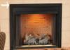 "White Mountain Hearth VBS32SHP 32"" 3-Piece Outer Frame in Hammered Pewter Breckenridge Deluxe 32"