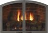 "White Mountain Hearth VFR32SCBL 32"" Arch Doors for Breckenridge 32 in Matte Black"