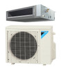 Daikin FDMQ12RVJU / RX12RMVJU 12000 BTU Concealed Ducted Ceiling Single Zone Mini Split with Heat Pump System