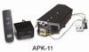 "RH Peterson Real-Fyre G412N-APK11N 12"" Glowing Ember Vented Burner with On/Off Remote - Natural Gas"