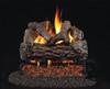 RH Peterson Real-Fyre Golden Oak Log Set - Choice of Vented Burner and Valve Kit