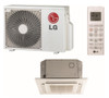 LC098HV4 9000 BTU Single Zone Ceiling Cassette Mini Split with Heat Pump, 230 Volt - Energy Star