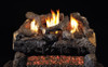 """RH Peterson Real-Fyre ECV24 24"""" Evening Fyre Charred Replacement Logs for G18 Vent-Free Burners (LOGS ONLY)"""