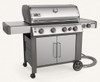 Weber 67006001 Genesis II S-435 Freestanding Gas Grill with Side Burner - Stainless - NG
