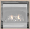 "White Mountain Hearth VBF36TBL 3-Piece Outer Frame for 36"" Louvered Firebox - Matte Black"