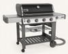 Weber 67011001 Genesis II E-410 Freestanding Gas Grill - Black - NG