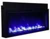 Amantii Extra Slim, Built-In, Indoor/Outdoor Electric Fireplace