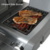 Napoleon R425SIBPBE Rogue Series Freestanding Gas Grill with Infrared Side Burner - Liquid Propane, Black