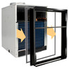 Amana AVC093G25AXXX 9000 BTU Small Chassis Vertical Terminal Air Conditioner with Electric Heat (VTAC) - 15 Amp