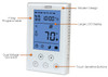 King Electric K302PE Programmable Clear Touch Double Pole Thermostat