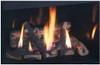"""Superior DRT3535DEP-C 35"""" Top/Rear Vent Pro Series Direct Vent Fireplace with Blower and Remote - Liquid Propane"""