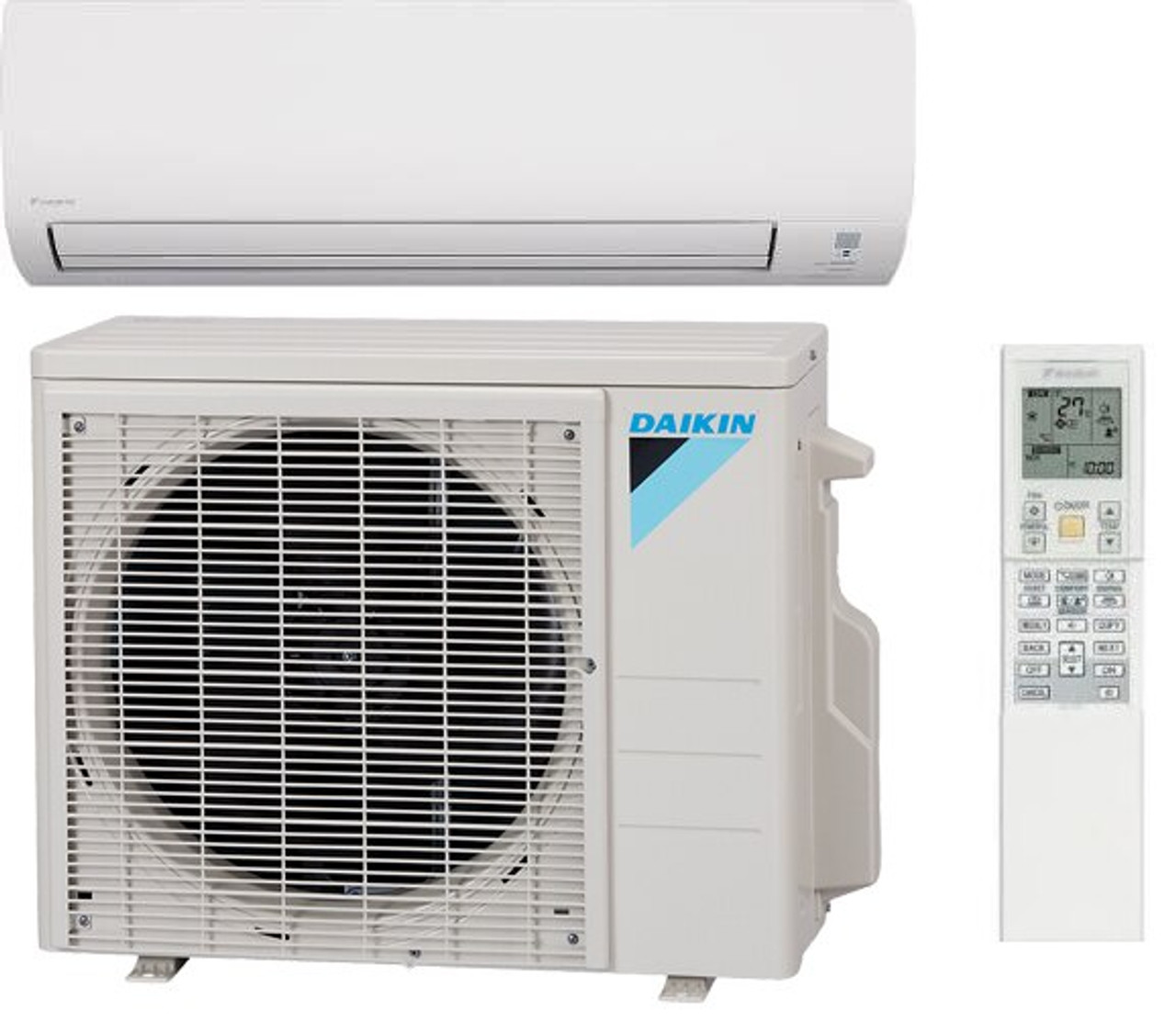Daikin FTX24NMVJU / RX24NMVJU 19 Series 24000 BTU Class Heat Pump 18 SEER  Single Zone Mini Split Air Conditioner System