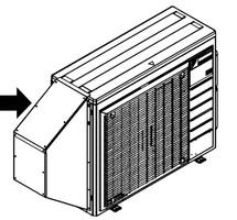 Daikin 18000 BTU Vista Series Ceiling Cassette Heat Pump