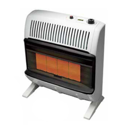 Heatstar HSSVFR30NGT 30000 BTU Vent Free Radiant Heater with Thermostat - Liquid Propane