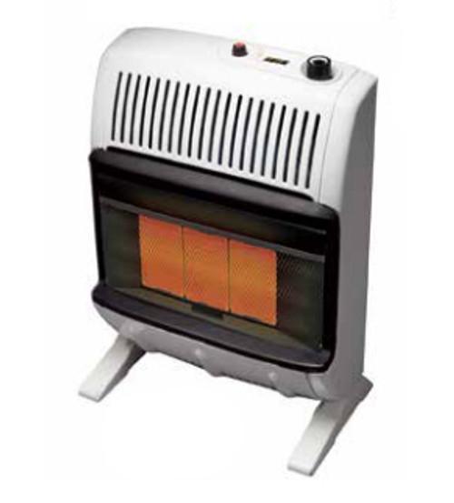 Heatstar HSSVFRD20LPT 20000 BTU Vent Free Radiant Heater with Thermostat - LP