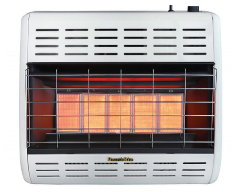 HearthRite HRW25TL 25000 BTU Infrared/Radiant Vent Free Gas Heater with Thermostat - Liquid Propane