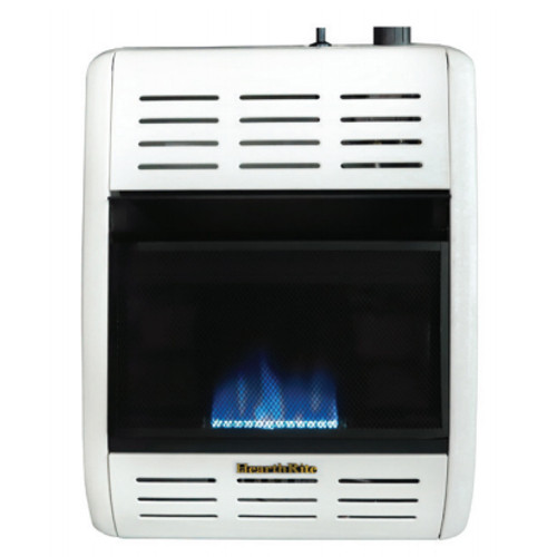 HearthRite HBW10TN 10000 BTU Blue Flame Vent Free Gas Heater with Thermostat - Natural Gas