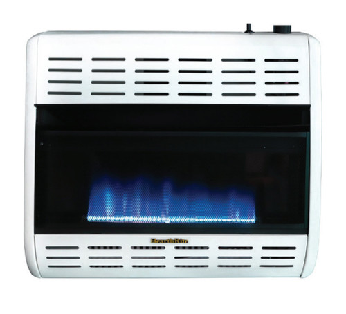 HearthRite HBW30TN 30000 BTU Blue Flame Vent Free Gas Heater with Thermostat - Natural Gas