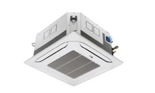 LG LCN248HV-PTMCHW0 24000 BTU 4-Way Ceiling Cassette with Grille Indoor Unit - Heat and Cool
