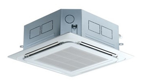 LG LCN188HV4-PTQCHW0 18000 BTU 4-Way Ceiling Cassette with Grille (Indoor Unit) - Heat and Cool