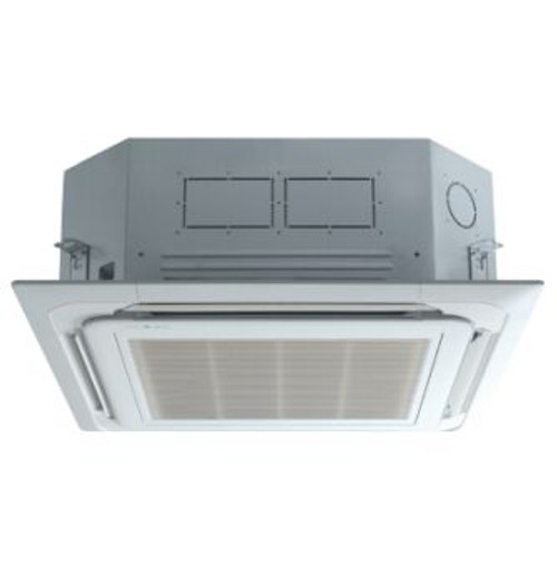 LG LCN097HV4 9000 BTU 4-Way Ceiling Cassette with Grille Indoor Unit - Heat and Cool